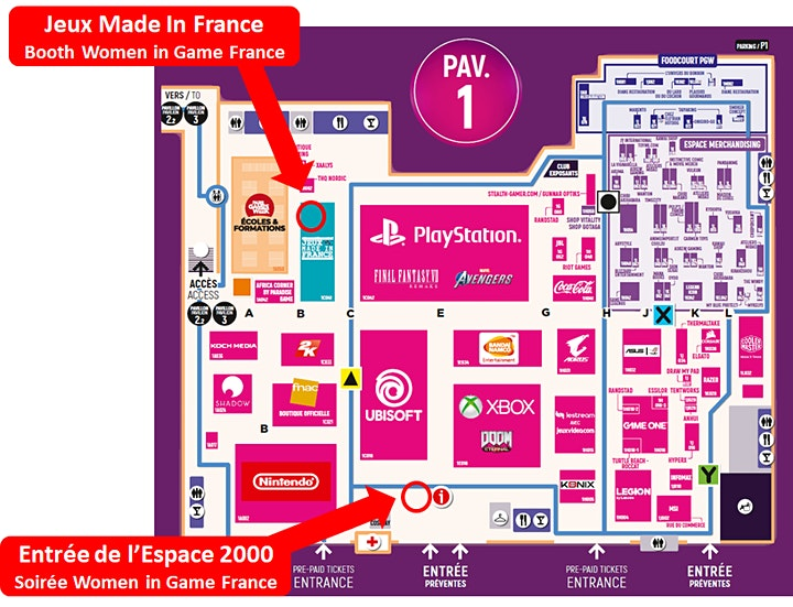 Image pour Women in Games France : Rencontre-Networking Paris Game Week 2019