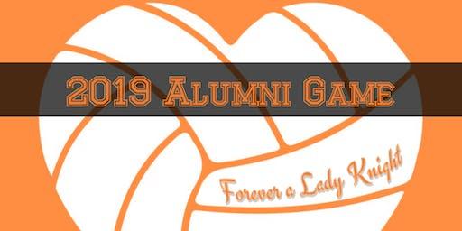 Newbury Alumni Volleyball Game