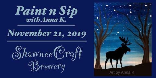 Paint n Sip @ ShawneeCraft Brewery