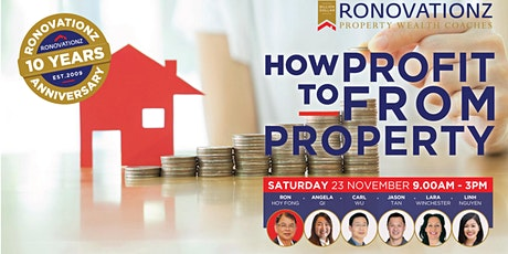 How To Profit From Property tickets