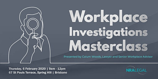 Workplace Investigations Masterclass