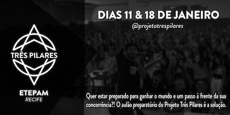 AULÃO PREPARATÓRIO TRÊS PILARES 2020 tickets