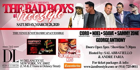 The Bad Boys Of Freestyle tickets