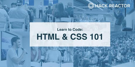 Learn to Code Denver: HTML & CSS 101 tickets