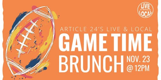 L&L: The Game Tailgate Bruch