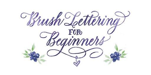 11/20 Brush Lettering for Beginners