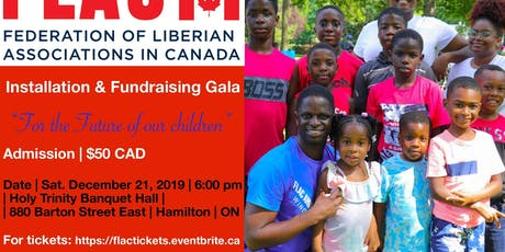 Installation and Fundraising Gala tickets