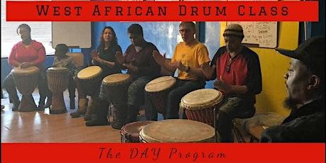 West African Drum Class tickets