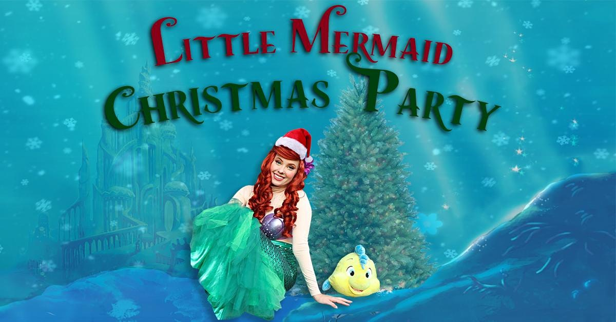 A Little Mermaid Christmas Party!