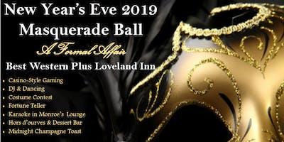 Best Western Plus Loveland Inn New Year's Masquerade Ball