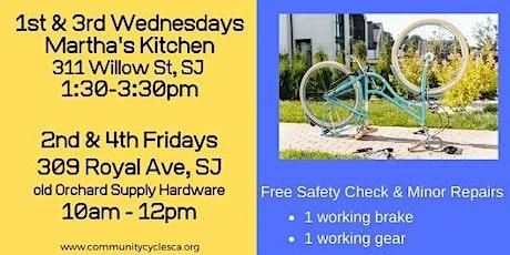 Volunteer: Free Safety Repair Clinic at Martha's Kitchen tickets