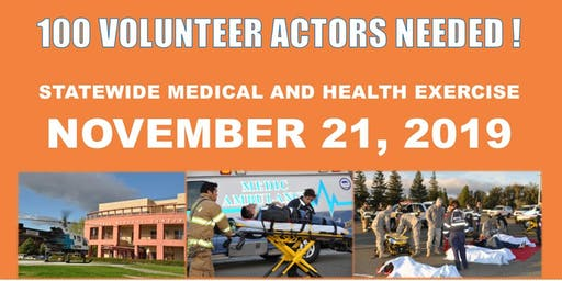 2019 STATEWIDE MEDICAL AND HEALTH EXERCISE