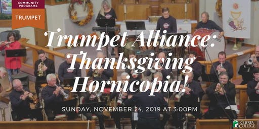 San Luis Obispo County Trumpet Alliance: Thanksgiving Hornicopia!