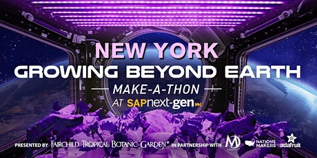 New York Growing Beyond Earth Make-A-Thon tickets
