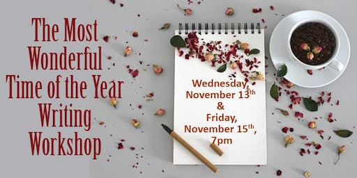 The Most Wonderful Time of the Year Writing Workshop