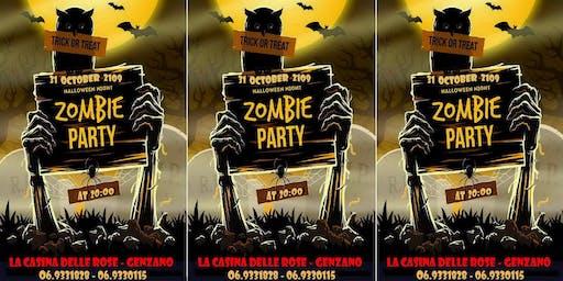Halloween Night Zombie Party alla Casina delle Streghe!