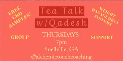 Tea Talk w/Qadesh CBD and Weight-loss? Yasss!