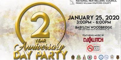 Prince William-Stafford NPHC 2nd Anniversary Day Party (SMOKE FREE)
