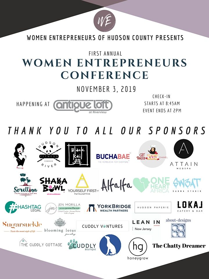First Annual Women Entrepreneurs Conference image