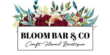 Holiday Floral Centerpiece Workshop at Bloom Bar & Co. 12/22 tickets