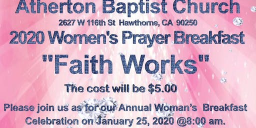 "2020 ABC Women's Prayer Breakfast: ""Faith Works"""
