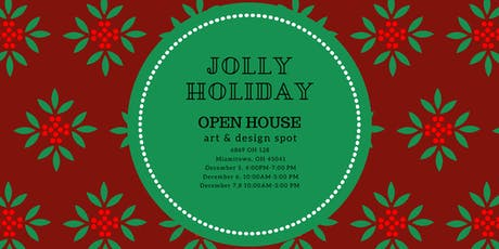 HOLIDAY OPEN HOUSE - Make & Take Projects, Shopping, Snacks & Drinks tickets
