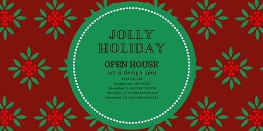 HOLIDAY OPEN HOUSE - Make & Take Projects, Shopping, Snacks & Drinks