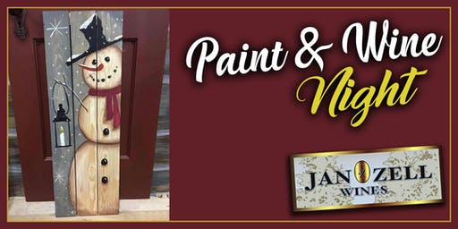 Jan Zell Wines Saturday Afternoon Paint Event