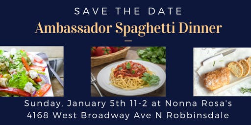 Ambassador Spaghetti Luncheon