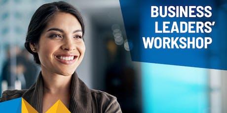 Business Leaders' Workshop - Friday 22 November tickets