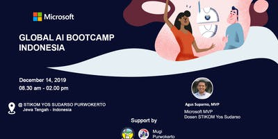 Global AI Bootcamp Indonesia - Purwokerto