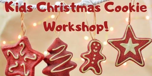 Kids Christmas Cookie Workshop!