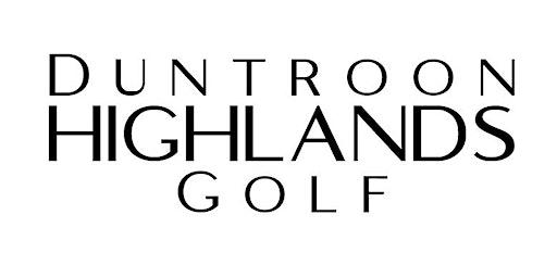 Duntroon Highlands Under 35 Nine & Dine