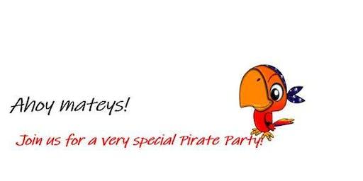 Springfree Trampoline Pirate Party