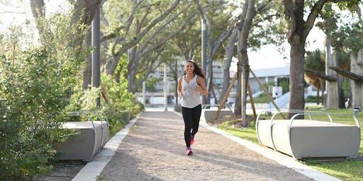 5K Run + Yoga Stretch