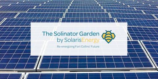 Solinator Garden Ribbon Cutting