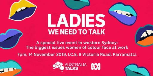 Ladies, We Need To Talk LIVE PODCAST