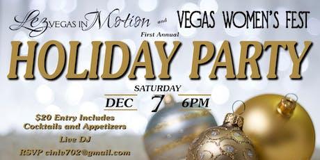 Lez Vegas in Motion & Vegas Women's Fest Holiday Party tickets