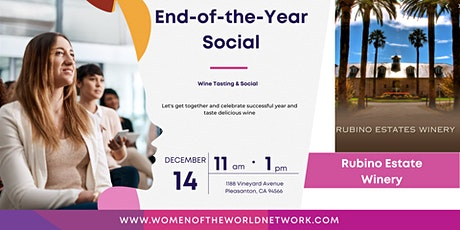 Women of the World Network California: End of The Year Social tickets