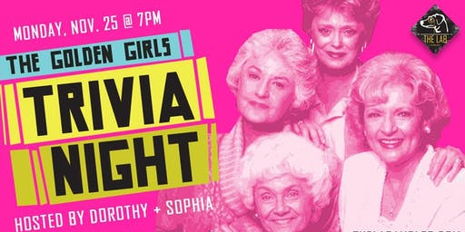 Nothing Trivial: Golden Girls Trivia Night (Benefitting Montco SAAC)