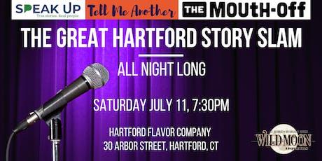 The Great Hartford Story Slam: All Night Long tickets