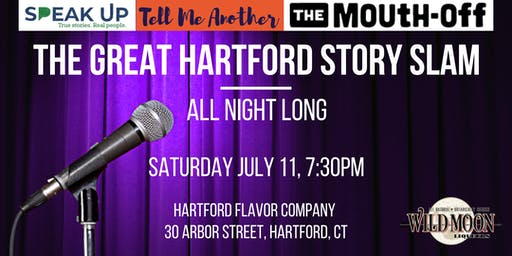 The Great Hartford Story Slam: All Night Long
