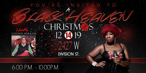 """""""A Black Heaven Christmas"""" A Whimsical Night of Music"""