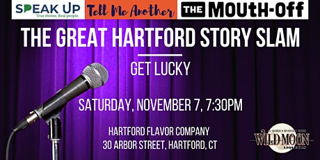 The Great Hartford Story Slam: Get Lucky tickets
