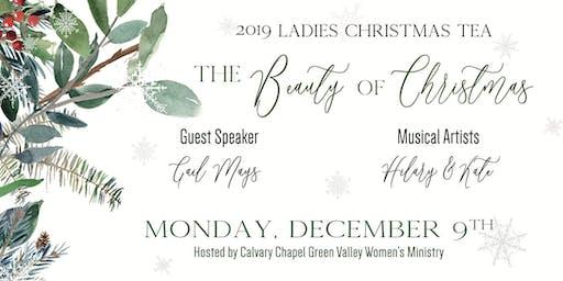 Calvary Chapel Green Valley Ladies Christmas Tea Monday