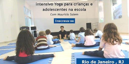 Formação em Yoga Educativa- Janeiro de 2020 - Rio de Janeiro , RJ - Intensivo Yoga p/ Crianças e Adolescentes na Escola