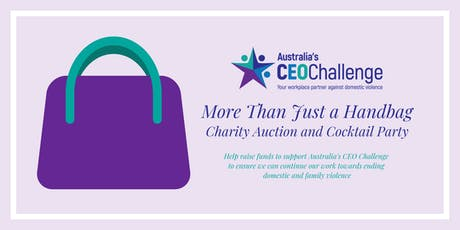 More Than Just a Handbag Charity Auction & Cocktail Party tickets