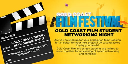 Gold Coast Film Student Networking Event