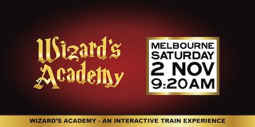 Wizard's Academy Melbourne: 9:20am - 2 November, 2019