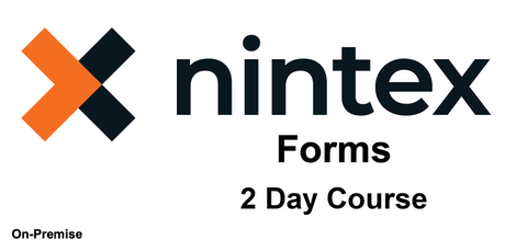 Introduction to Nintex (On-Premise) Forms  - 2 Day Course  - Hybrid tickets